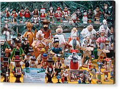 Toys And Nutcrackers For Sale Acrylic Print by Ronda Broatch