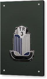 Tr3 Hood Ornament 2 Acrylic Print