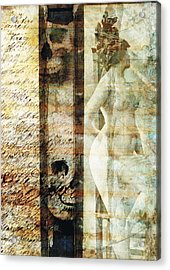 Traces 05 Acrylic Print by Mark Preston