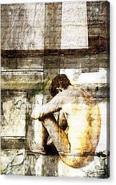 Traces 09 Acrylic Print by Mark Preston