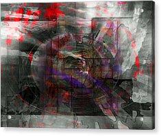 Traces Of Memory Acrylic Print by Florin Birjoveanu