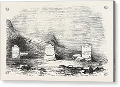 Traces Of The Franklin Expedition The Three Graves At Cape Acrylic Print