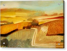 Track Acrylic Print by Charlie Baird