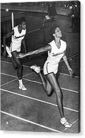 Track Star Wilma Rudolph Acrylic Print by Underwood Archives