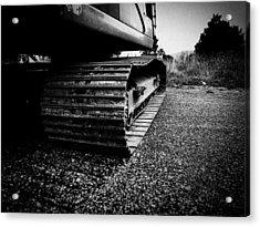 Track Acrylic Print