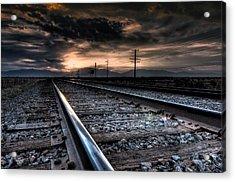 Tracking Sunrise Acrylic Print