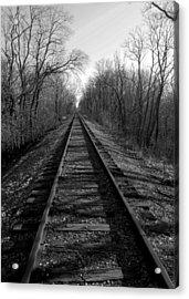 Tracks Acrylic Print by Brian Amick