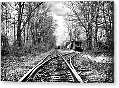Tracks Of History Acrylic Print by John Rizzuto