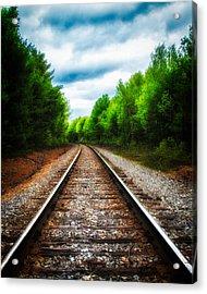 Tracks Through The Woods Acrylic Print by Bob Orsillo