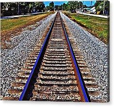 Tracks To Somewhere Acrylic Print