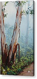 Trackside Gums Lithgow Acrylic Print