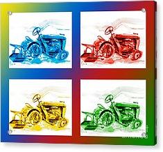 Tractor Mania IIi Acrylic Print by Kip DeVore