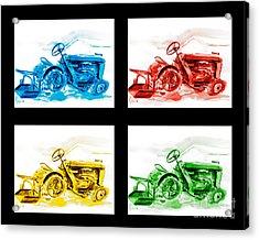 Tractor Mania Iv Acrylic Print by Kip DeVore