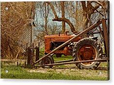 Tractor On Us 285 Acrylic Print