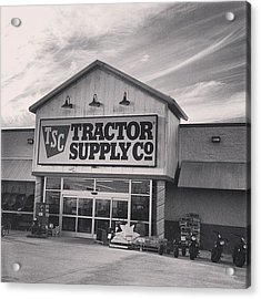 Tractor Supply Store Acrylic Print