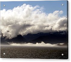 Acrylic Print featuring the photograph Tracy Arm Fjord by Jennifer Wheatley Wolf