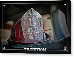 Tradition Acrylic Print by Mitchell Brown