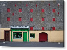 Traditional Butchers , Leighlinbridge Acrylic Print by Panoramic Images