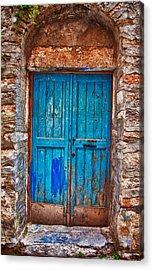 Traditional Door 2 Acrylic Print