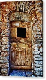 Traditional Door 3 Acrylic Print