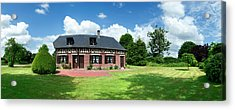 Traditional Half-timbered Former Acrylic Print by Panoramic Images