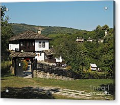 Traditional House In Architectural Preserve Bojenci Acrylic Print by Kiril Stanchev