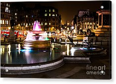 Acrylic Print featuring the photograph Trafalgar Square by Matt Malloy