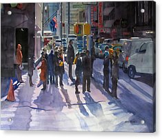 Traffic Light Acrylic Print by Kris Parins