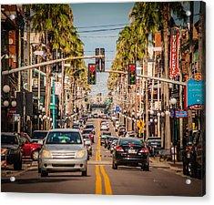 Traffic Acrylic Print by Ybor Photography