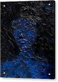Claimed By Darkness Acrylic Print by Sora Neva