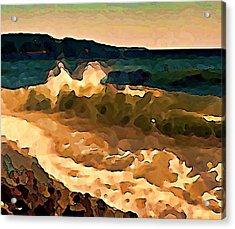 Trail Bay Wave Acrylic Print