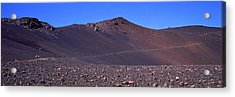 Trail In Volcanic Landscape, Sliding Acrylic Print by Panoramic Images