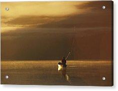 Trail Lake Kenai Peninsula Southcentral Acrylic Print by Jeff Schultz