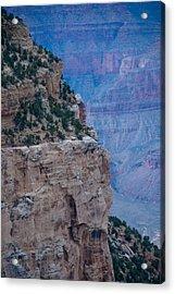 Trail On The Edge Acrylic Print by Nickaleen Neff