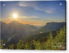 Trail Ridge Road Sunrise Acrylic Print
