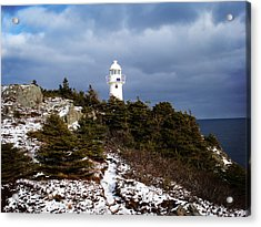 Trail To The Lighthouse Acrylic Print