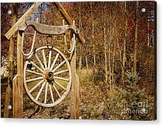 Trail's End Acrylic Print by A New Focus Photography