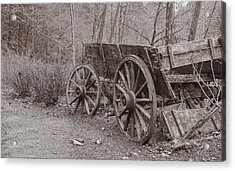 Trail's End Acrylic Print by William Culler