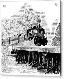 Train 1 Acrylic Print