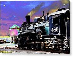 Train 489 Acrylic Print by Steven Bateson