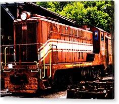 Train Engine Nc Sl  Acrylic Print by Mark Moore