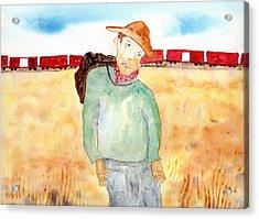 Train Escape Acrylic Print