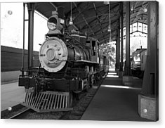 Acrylic Print featuring the photograph Train by Gandz Photography