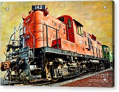 Train - Mkt 142 - Rs3m Emd Repowered Alco Acrylic Print