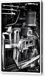 Train Pistons Acrylic Print by John Rizzuto