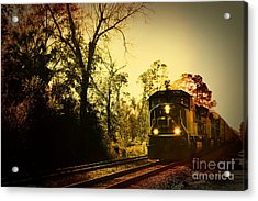 Train Ride Acrylic Print