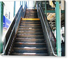 Train Staircase Acrylic Print
