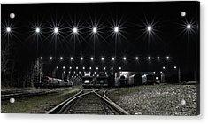 Train Stars Acrylic Print