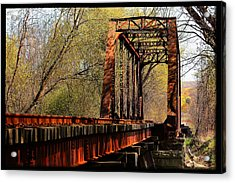 Train Trestle   Acrylic Print