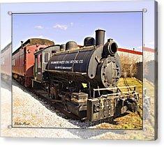 Train Acrylic Print by Walter Herrit